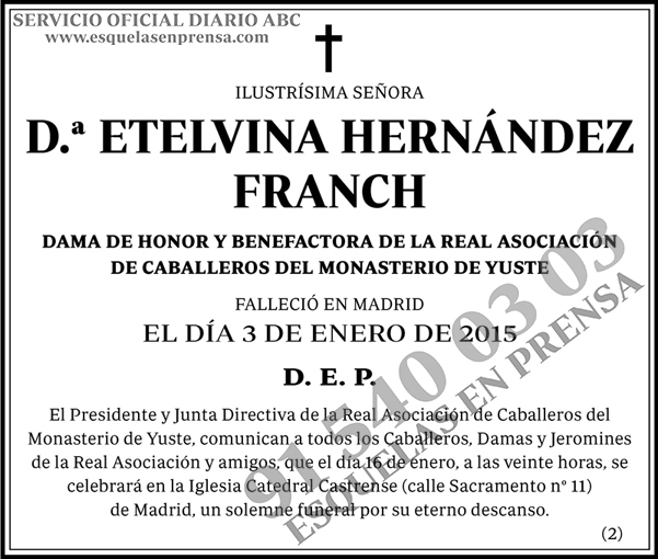 Etelvina Hernández Franch